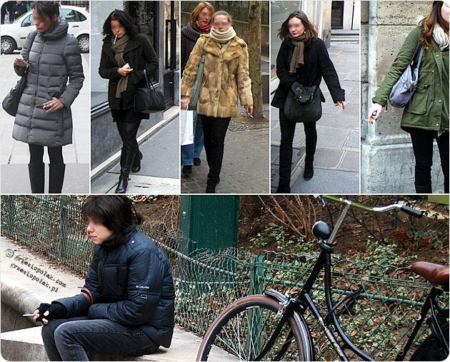 Paryż pełen palaczek