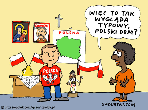 Dom polskiego emigranta