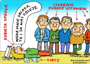 Oblewanie studentów medycyny