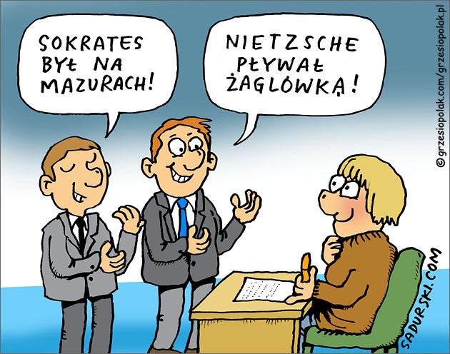 Sokrates i Nietzsche na Mazurach