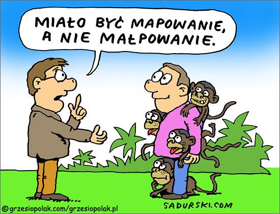 Mapowanie versus małpowanie