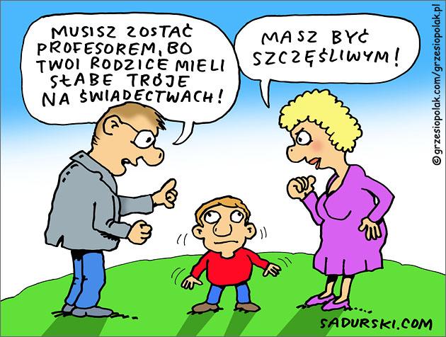 Idealna przyszłość dziecka w oczach rodziców