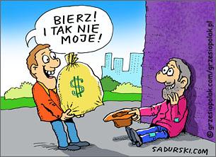 Bankier i żebrak