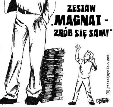 Zestaw Magnat - zrób się sam!