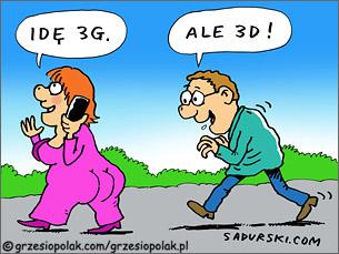 3G versus 3D
