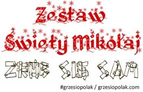 """Zestaw """"Święty Mikołaj - zrób się sam!"""""""
