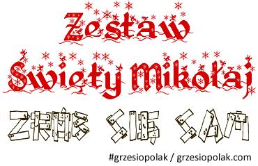Zestaw Święty Mikołaj - zrób się sam!