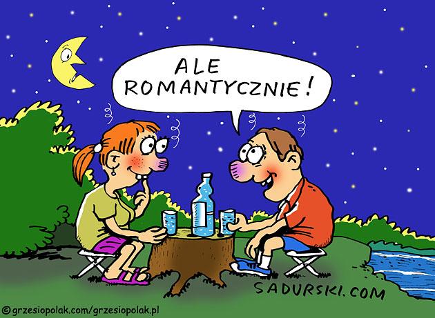 Romantyczna noc pod gwiazdami