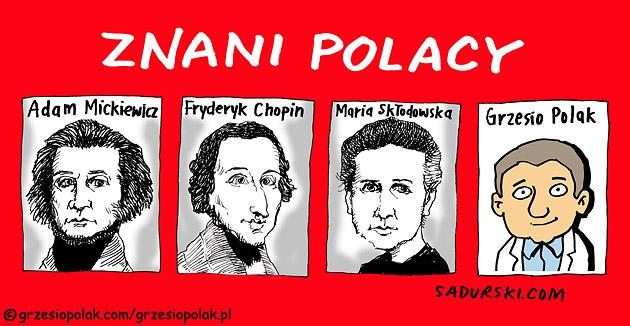 Znani Polacy