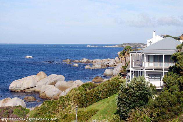 Dom nad oceanem na Przylądku Kapsztadzkim