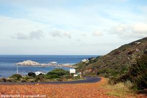 Droga, biegnąca wzdłuż wschodniego wybrzeża Przylądka Kapsztadzkiego