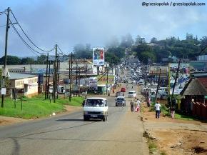 Wioska murzyńska w Republice Południowej Afryki