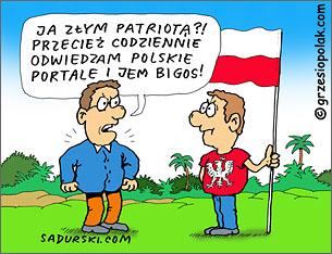 Polski emigrant patriota