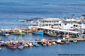 Port rybacki na Przylądku Kapsztadzkim