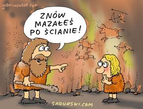 Z życia jaskiniowców