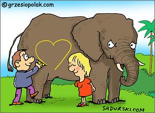 Odsłona 77 - Na słonia, czyli podryw po afrykańsku