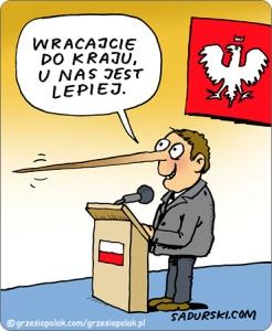Wracajcie do Polski rodacy!