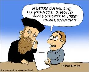 Nostradamus i Grzesio Polak