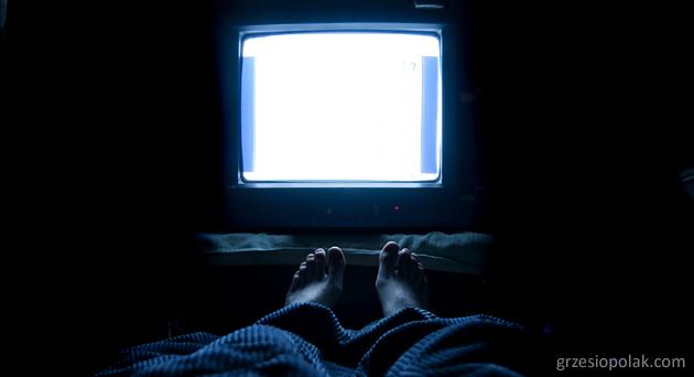 Telewizyjny nałogowiec