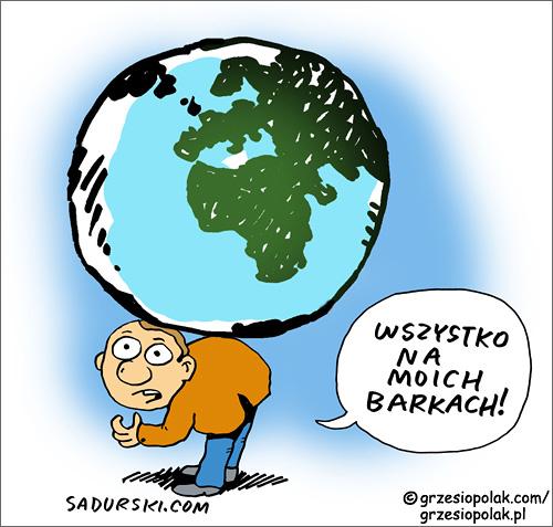 Świat na barkach człowieka